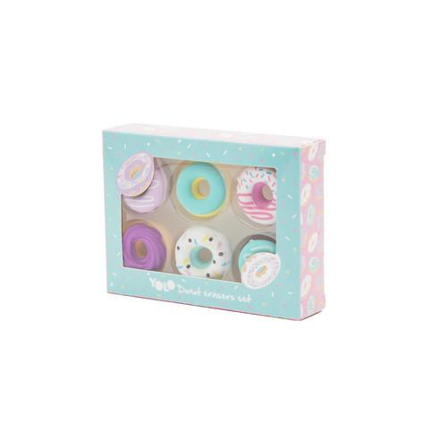 Donuts eraser set