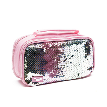 Suitcase pastel sequin