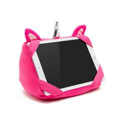 Tablet pillow flamingo turn to neck pillow