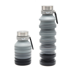 Silicon black gradient bottle