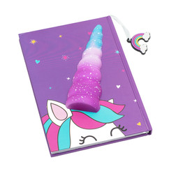 Unicorn squishy A5 diary