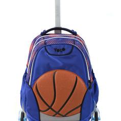 Trolly school bag basketball