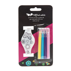 Touch led watch DIY happy