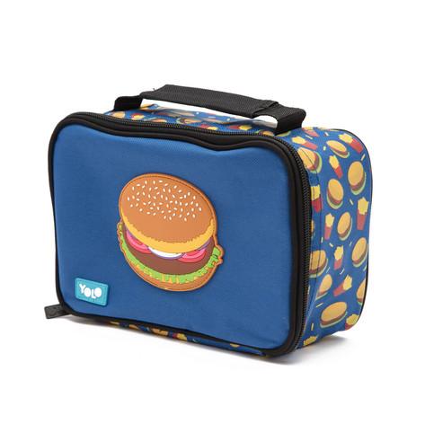 Rectangle hamburger lunch bag