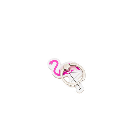 Phone holder ring flamingo