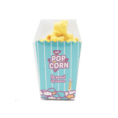 Popcorn pencil toppers