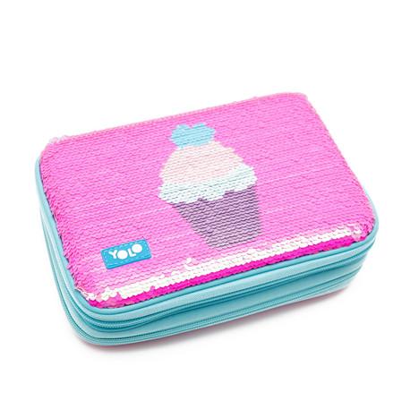 Sequin cupcake EVA
