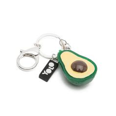 Mini avocado key ring