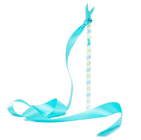 Gymnastic ribbon pencil blue