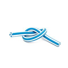 Long eraser blue