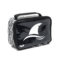 Rectangle shark lunch bag