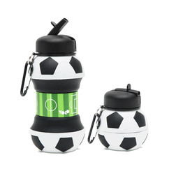 Silicon soccer bottle