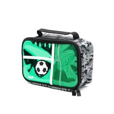 Rectangle soccer lunch bag