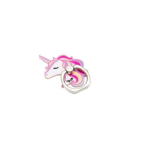 Phone holder ring unicorn
