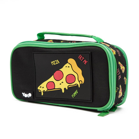 Suitcase food pizza