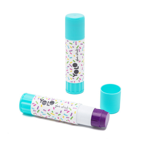 Magic glue stick sprinkles
