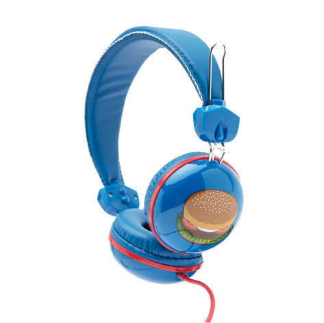 Retro headphones hanburger