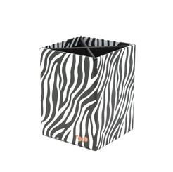 Zebra pen holder