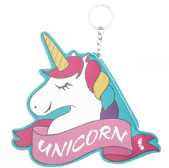 Unicorn coin wallet key ring