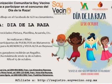 ¡Festejo Digital Día de La Raza!