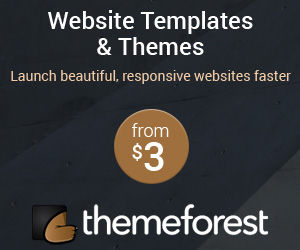 Adsense Banner - Theme Forest