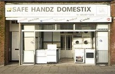 Safe Handz Domestix Shopfront