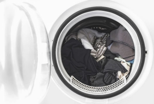 Washing Clothes In Machine