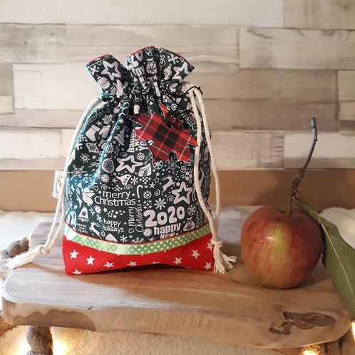 sac à cadeau merry christmas 2020