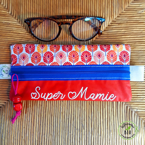 Pochette plate lunettes