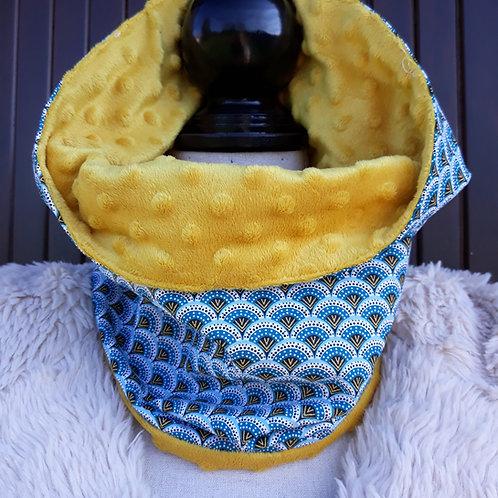 snood tour de cou écharpe minky wazabi