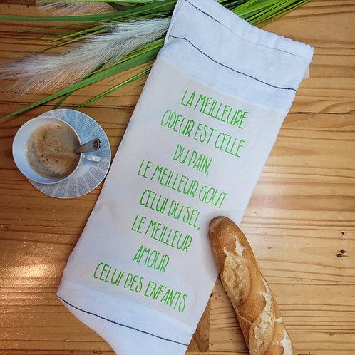 Sac à pain en tissus réutilisable