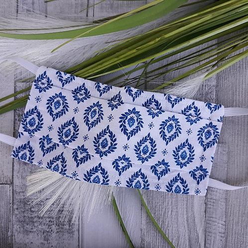 Masque provencal bleu