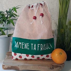 Les sacs à vrac personnalisés zéro déchet