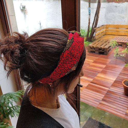 headband-tissus-wax-rouge-papillon