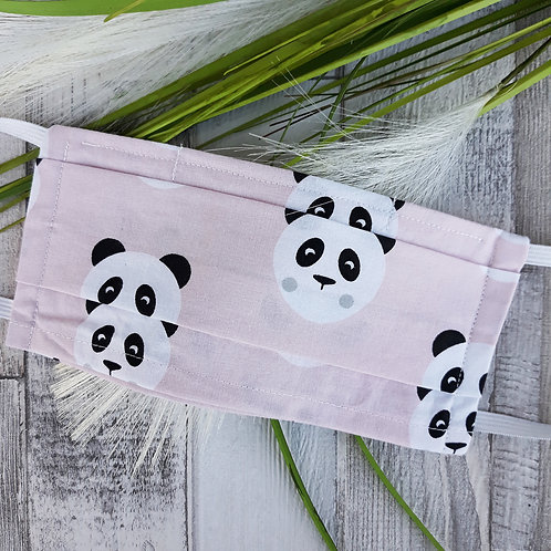Masque panda rose