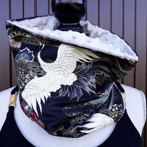 tour de cou snood écharpe col nature japonaise