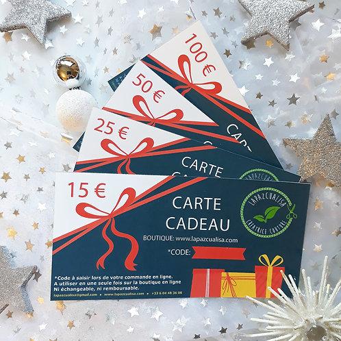 Carte cadeau noël 2020 original gifts regalos de navidad