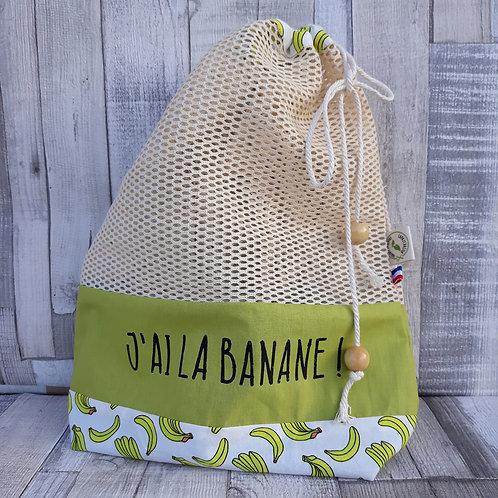 sac a vrac zéro déchet zero waste banane