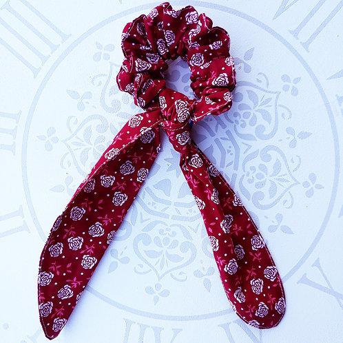 Coletero, foulchie, cinta cruzada rosa roja
