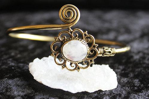 Moonstone Arm bracelet