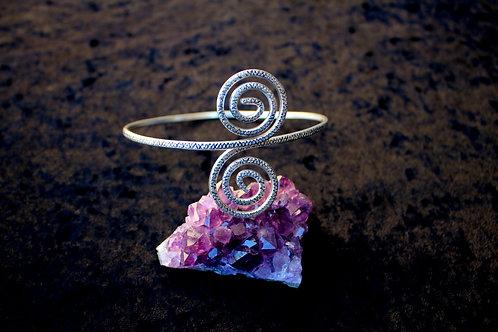 Sacred Spiral Arm bracelet