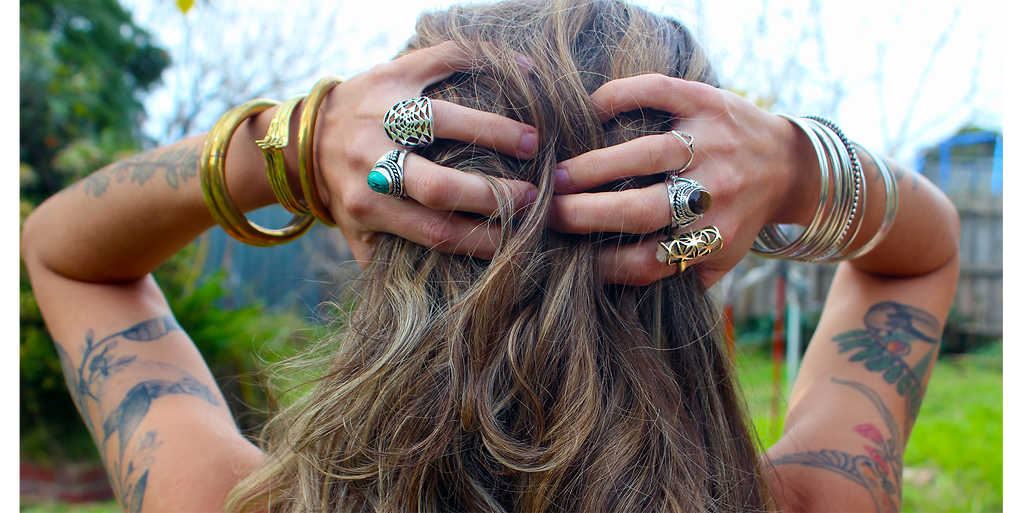 Crystal rings,sacred geometry rings, goddess rings and much more!