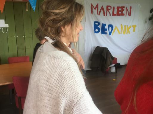 Op 30 april nam onze bestuurder en mede-oprichter Marleen Wessels afscheid