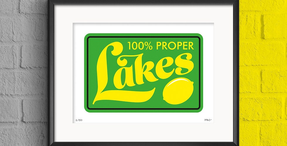 LAKES PRINT