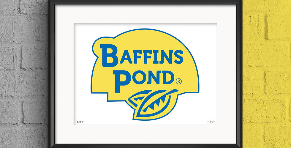 BAFFINS BOAT PRINT