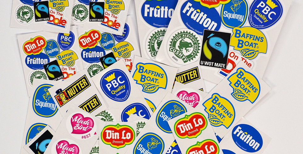 LARGE STICKER PACK