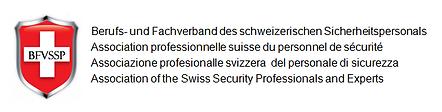 Logo Berufs- und Fachverband des schweizerischen Sicherheitspersonals