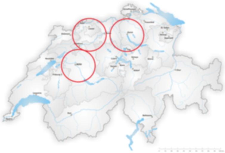 Standorte Swiss Security