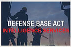USA Defence Base Act Intelligence Services for Insured personal
