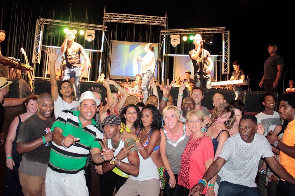 Group fun, club, Havana, Cuba
